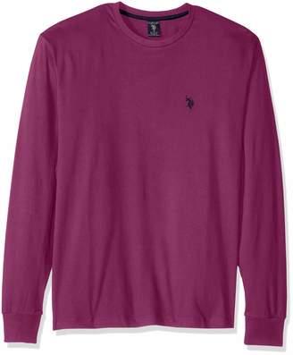 af5e5384 U.S. Polo Assn. Men's Long Sleeve Crew Neck T-Shirt
