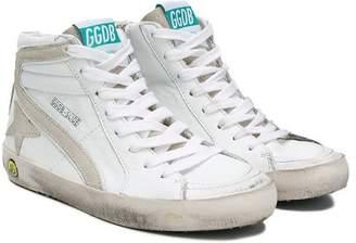 Golden Goose Kids Slide hi-top sneakers