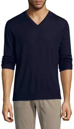 Ermenegildo Zegna Cashmere Blend V-Neck Sweater