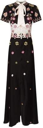 Temperley London Finale Embroidered Maxi Dress