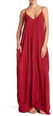Love Stitch GAUZE MAXI DRESS