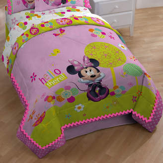 Disney Minnie Bowtique Garden Party All Season Down Alternative Comforter