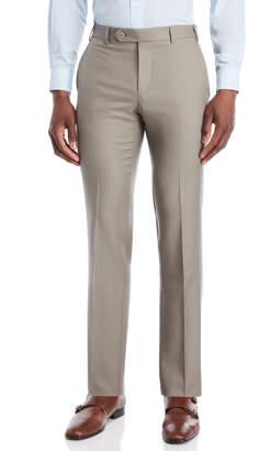 Zanella Tan Curtis Tapered Dress Pants