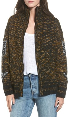 Women's Obey Tunnel Vision Zip Jacket $93 thestylecure.com