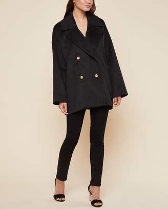 Juicy Couture Melton Cocoon Coat