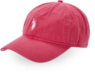 U.S. Polo Assn. Hot Pink Logo Baseball Cap