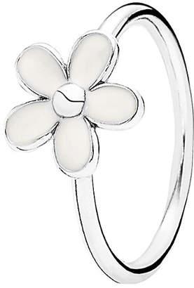 Pandora Darling Daisy Silver Enamel Ring