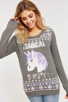 Ardene Ugly Emoji X-Mas Sweater