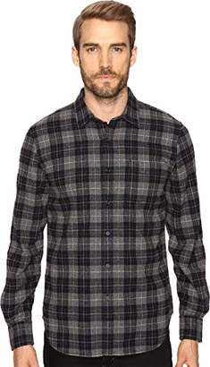 Joe's Jeans Men's Relaxed Orimono Plaid Button Down Shirt