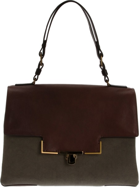 Lanvin Miss Sartorial Satchel Sale up to 60% off at Barneyswarehouse.com