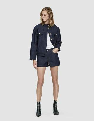 A.P.C. High Standard Denim Shorts