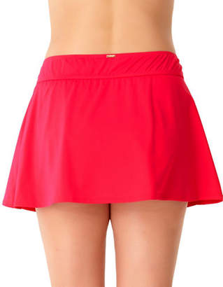 Anne Cole Plus Classic Swim Skirt