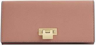 Reiss Parker Leather Lock Closure Wallet