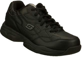 16fcf2b362c2 Skechers Albie Slip Resistant Womens Work Shoes