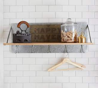 Pottery Barn Galvanized Shelf