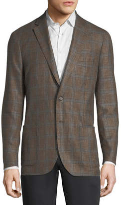 Peter Millar Crown Plaid Soft Jacket