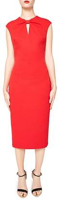 Ted Baker Kezzia Bow-Neck Dress $295 thestylecure.com