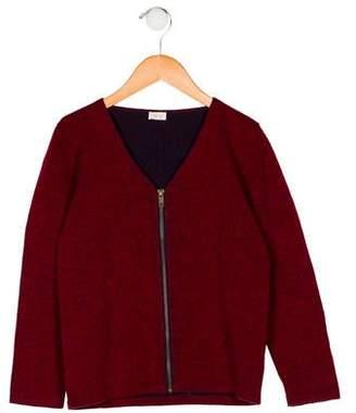 Ketiketa Girls' Wool Cardigan