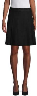 Saks Fifth Avenue BLACK Pull-On Flared Skirt