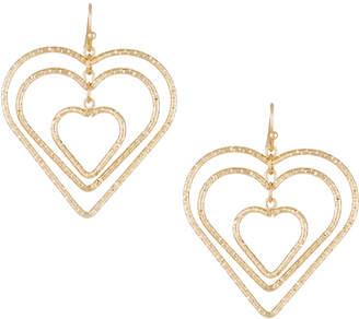 Fragments for Neiman Marcus Interlocking Heart Drop Earrings