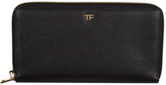Tom Ford Leather Travel Wallet