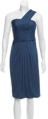 3.1 Phillip Lim One-Shoulder Silk Dress