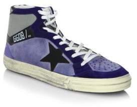Golden Goose Star Mid-Top Sneakers