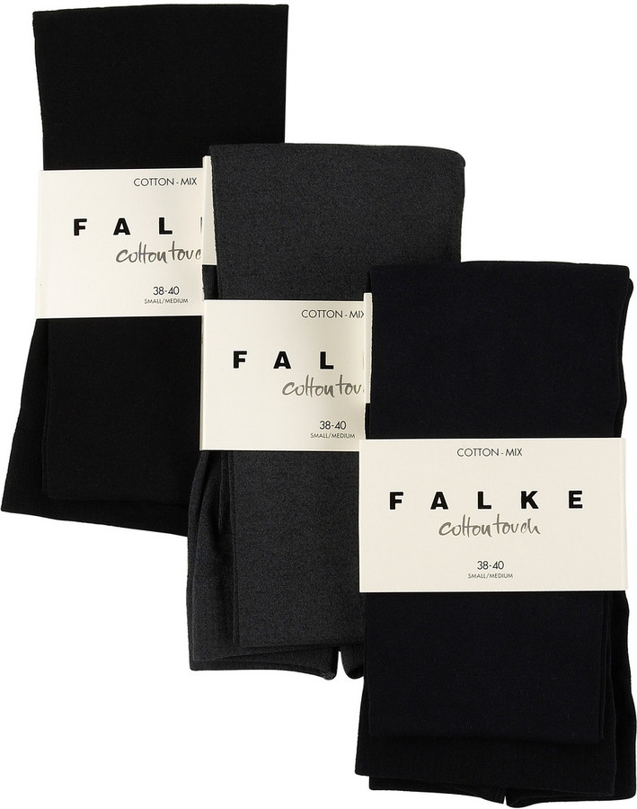 Falke Set of cotton touch tights