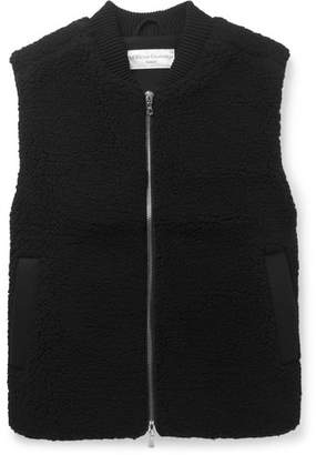 Officine Generale Wool-Blend Fleece Gilet