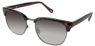 Vince Camuto Unisex Clubmaster Metal Frame Sunglasses