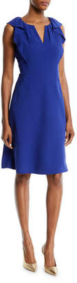 Elie Tahari Elleanora Ruffled-Trim Dress