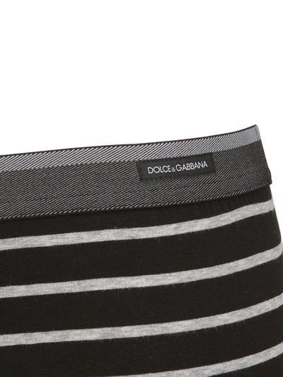 Dolce & Gabbana Striped Jersey Boxer Briefs