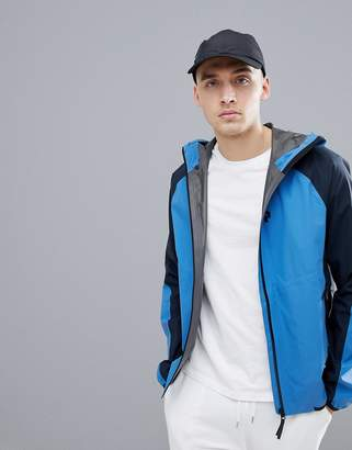 Peak Performance Pac Jacket With GORE-TEX In Blue/Navy