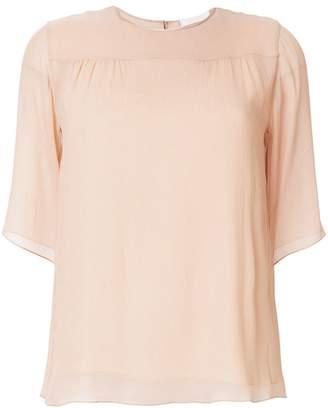 Chloé round-neck blouse