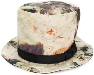 Yohji Yamamoto high tie dye hat