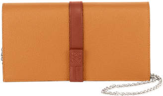 Loewe Calfskin Leather Wallet On A Chain