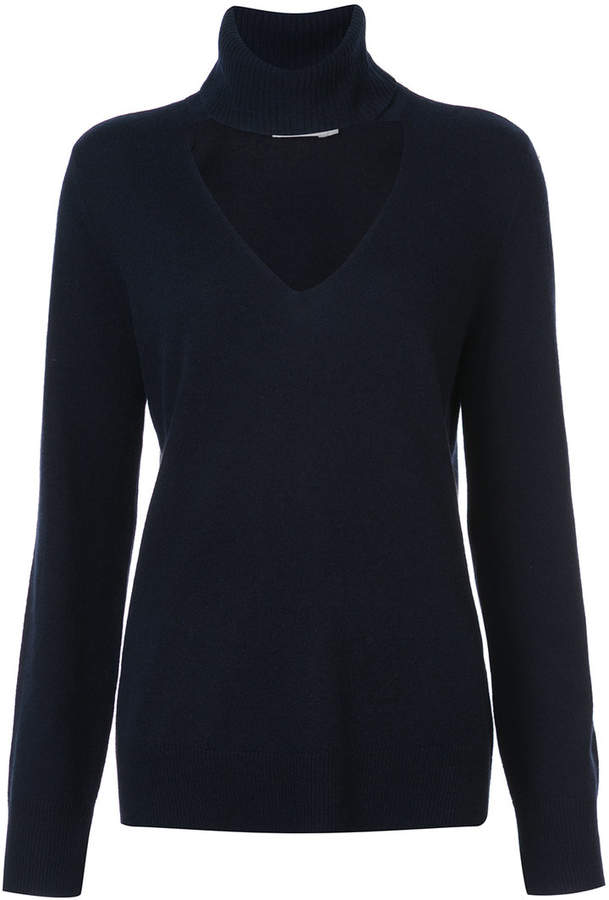 A.L.C. roll-neck detail sweater