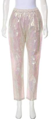 Stella McCartney High-Rise Straight-Leg Pants