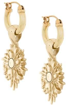 Ellery medallion earrings