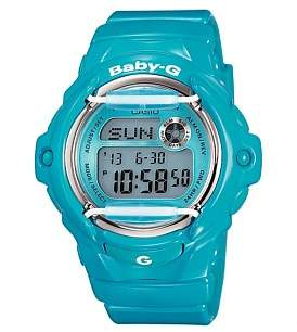 Baby-G Baby G Digital Series Blue With Face Guard