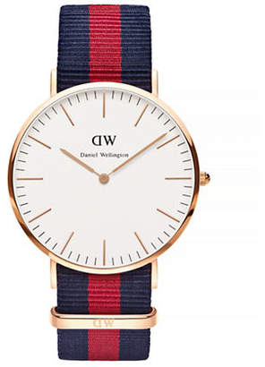 Daniel Wellington Oxford NATO Strap Goldplated Watch