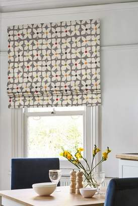 Next Retro Geo Floral Roman Blind