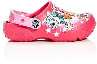 Crocs x Nickelodeon Girls' PAW Patrol© Fun Lab Clogs - Walker, Toddler, Little Kid