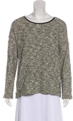 Yigal Azrouel Knit Scoop Neck Sweater