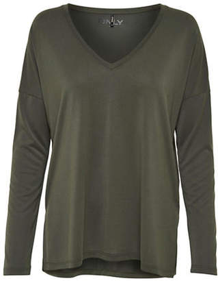 Only Basic Long-Sleeve Top