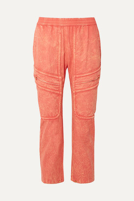 Paradised - Prim Cotton-twill Pants - Coral