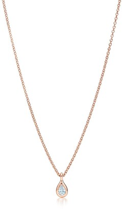Tiffany & Co. Elsa Peretti Diamonds by the Yard pendant in 18k rose gold