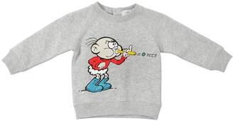 Stella McCartney Cartoon Printed Cotton Sweatshirt