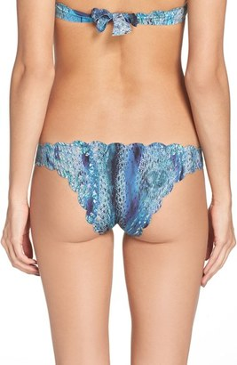Women's Pilyq Seamless Reversible Bikini Bottoms $88 thestylecure.com