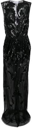 Elisabetta Franchi long sequin gown
